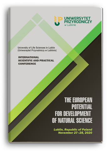 Cover for THE EUROPEAN POTENTIAL FOR DEVELOPMENT OF NATURAL SCIENCE